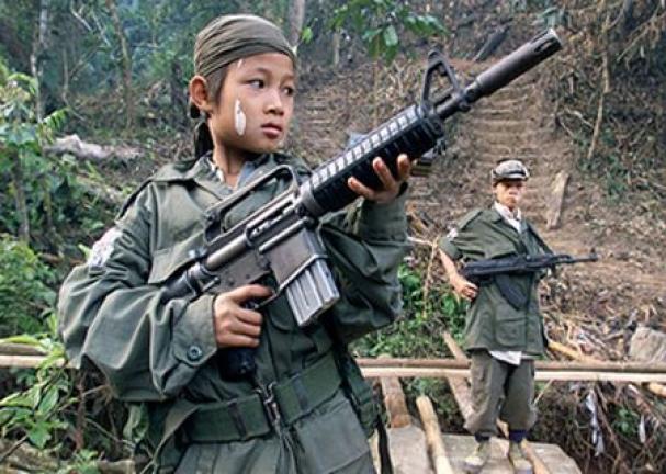 NPA child warrior