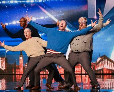 These Old Men Made Simon Cowell's Jaw Drop with their Grooving' Bust a Move