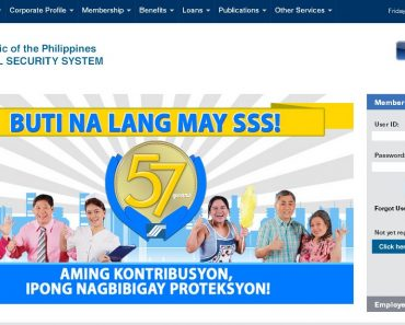 Online Inquiry at the Social Security System Philippines Website for Members