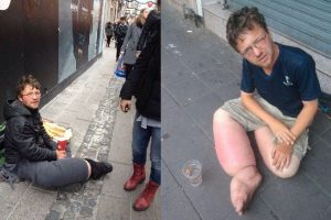 German Beggar Who Victimized People in Thailand Now in PH