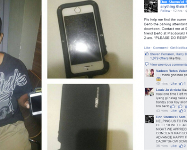 Parking Attendant Praised for Honesty after Finding iPhone 5s