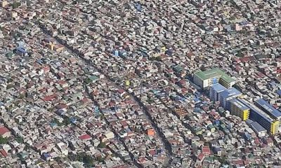 pasig city aerial view