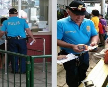 Policeman Praised for Buying Anti-rabies Medicine for Old Beggar