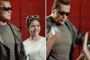 WATCH: Arnold Schwarzenegger Pranks Museum Goers at Madame Tussauds Wax Museum