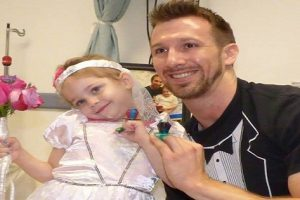"""Watch Touching Moment 4-Year-Old Cancer Patient """"Marries"""" Favorite Nurse"""