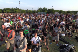VIRAL: 1,000 Musicians the Play Foo Fighter's Hit to Convince the Band to Play in Their Town