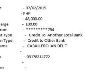 Scammer Steals P48K from Netizen's Bank Account by Using His Globe Postpaid Account!