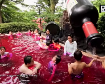 Japanese Spa Allows You to Bath in Wine