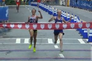 WATCH: American Runner Loses 10k Race to British Rival After Celebrating Victory Too Early