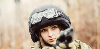 russian army girl