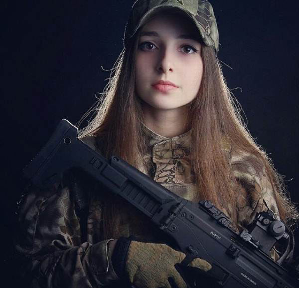 russian army girl