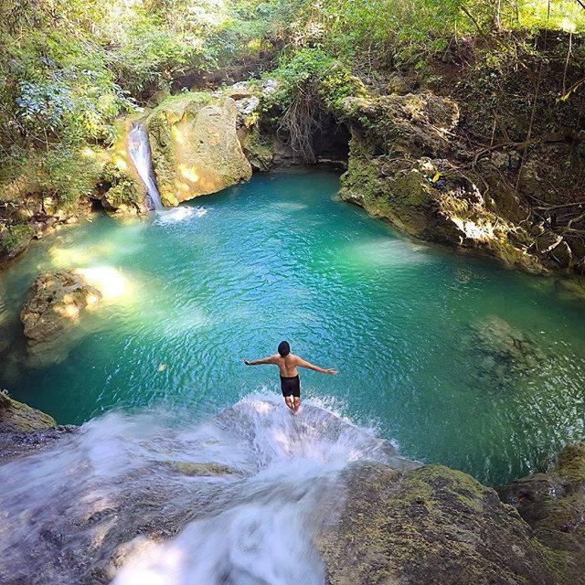Cambais Falls, Alegria, Cebu