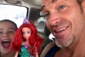 This Boy Picks an Ariel Doll from a Toy Store. His Father's Reaction Is Unbelievable!