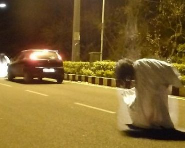 """Prank Goes Wrong: """"Ghost"""" Hit by Victim's Car"""