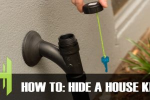 How to Effectively Hide Your Spare House Key