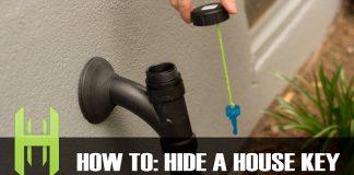hiding a house key