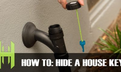hiding a house key