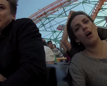 The Most Awkward Break-Up Ever: During a Roller Coaster Ride!