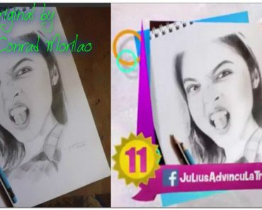 A Photo That Made It to GMA's Best of #AlDub Fan Art was Stolen from RachFeed Artist's Son!