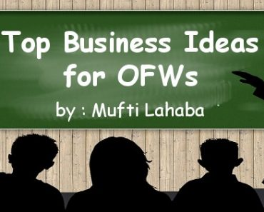 Top Business Ideas for OFWs, Part 5: Interview with Mufti Lahaba