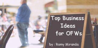 Business Ideas for OFW - Romy Miranda
