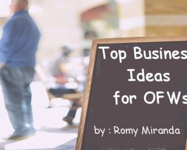 Top Business Ideas for OFWs, Part 4: Interview with Romy Miranda