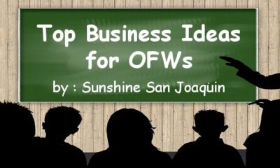 Business Ideas for OFW - Sunshine San Joaquin