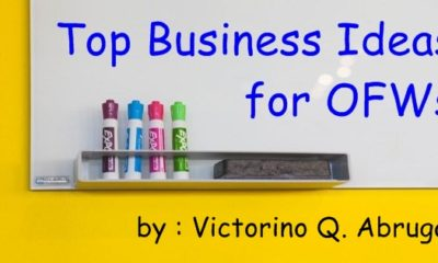 Business Ideas for OFW - Victorino Abrugar