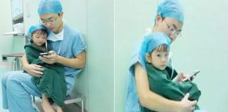 Photo of Surgeon Comforting Young Open Heart Surgery Patient Goes Viral