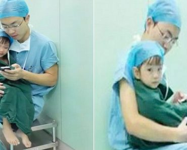 Photos of Surgeon Comforting Young Open Heart Surgery Patient Go Viral