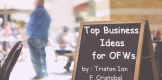 Top Business Ideas for OFWs by Tristan Ian F Cristobal