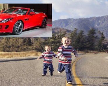 Two Preschoolers Dig Tunnel to Escape School, Walk 2 Kilometers to Buy a Jaguar