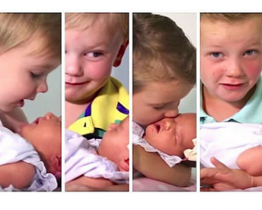 Six Boys Give Their Newborn Sister a Heartwarming Welcome
