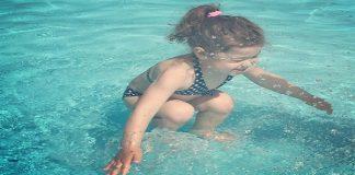 girl in pool debate