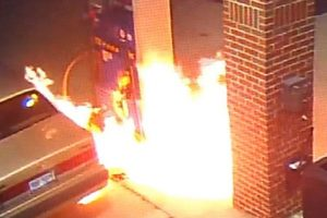 Man Ignites Fire at Gas Station By Burning A Spider