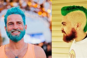 Merman Trend Invades the Web as Men Dye Hair with Shockingly Vivid Colors