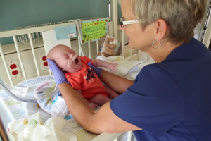 NICU Nurse Receives Awesome Surprise from Patients She Saved