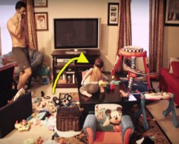 Incredible Time Lapse Video of Dad's Afternoon with Baby