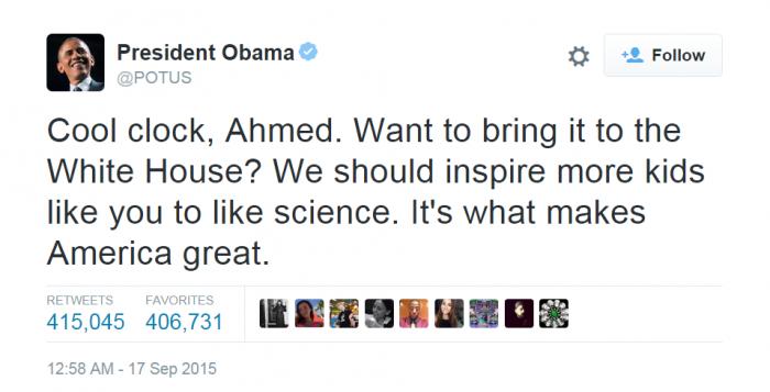 Photo credit: Twitter/President Obama