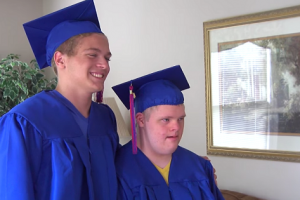 WATCH: Teen Requests School to Allow Twin with Down Syndrome to Graduate with Him