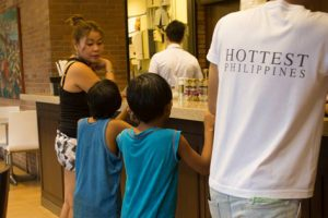 Woman Takes Street Children To A Hotel To Feed Them
