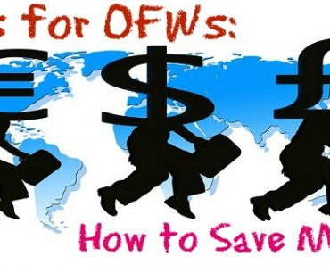 Tips for OFWs: How to Save Money