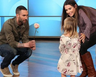 3-Year-Old Girl Cried Over Adam Levine But Snubs Him When They Finally Meet