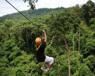 Chinese Tourist Dies During Zipline Ride in Thailand