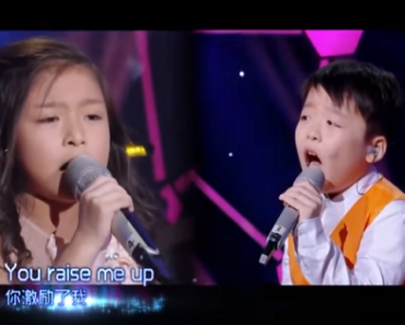 """Watch: Amazing Cover of """"You Raise Me Up"""" by These Adorable Kids"""