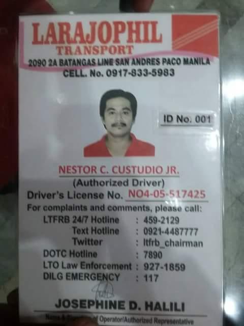 honest taxi driver