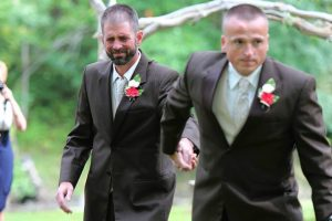 Bride's Father Stops Wedding to Invite Stepfather to Walk Down The Aisle With Them