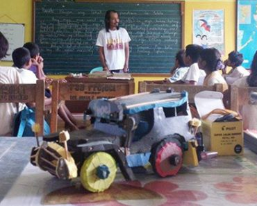 Creative Mangyan Kid Builds Toy Vehicles To Raise Funds For School Rest Room