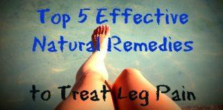 to Treat Leg Pain