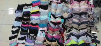 Man Loots 140 Pairs of Women's Underwear And Organizes Them Neatly in His Drawer